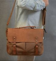 New handmade Canvas Messenger Shoulder Bag Unisex travel school unisex British