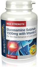 Simply Supplements Glucosamine 1500mg with Vitamin C 180+180 (360) Tabs (S588)