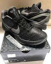 Nike Zoom Kobe 6 VI Size 10 Venomenon Air Jordan Grinches Black Authentic Grinch