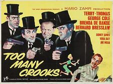 "Too many crooks 16"" x 12"" Reproduction Movie Poster Photograph"