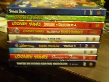 (13) Looney Tunes DVD Lot: Space Jam  Spotlight Collection 2 & 4  Best of Bugs