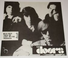 THE DOORS PICTURE SLEEVE WITH PROMO EP RECORD  IMPORT FROM FRANCE
