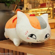 60cm Natsume Yuujinchou Nyanko Sensei Cat Plush Stuffed Cushion Pillow Anime toy