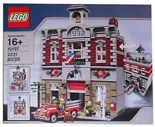 LEGO 10197 FEUERWACHE NEU UND UNGEÖFFNET PASST ZU 10182,10185, 10190