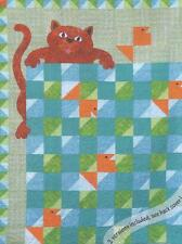 Cat Fish Charlie Cat & Fish applique Quilt pattern  by Susan Rooney Patterns