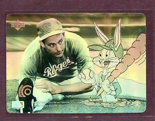 1991 Upperdeck Comic Ball Hologram , Nolan Ryan & Buggs Bunny