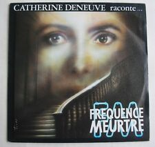 CATHERINE DENEUVE (SP 45 Tours)  RACONTE FREQUENCE MEURTRE