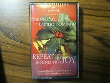 1995 Hallmark Christmas Cassette Tape REPEAT THE SOUNDING JOY Domingo Close NEW