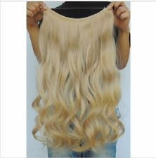 "BEACH BLONDE #613 HALO STYLE FLIP IN STYLE HAIR EXTENSIONS 20"" PRINCESS TRESSES"