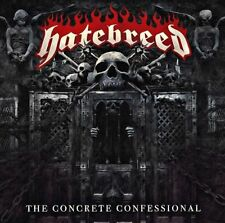The Concrete Confessional HATEBREED CD ( FREE SHIPPING)