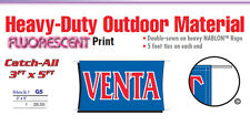 VENTA Banner Sign sale grand opening discount shopping bogo half off special