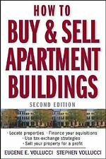 How to Buy and Sell Apartment Buildings Vollucci, Eugene E. Paperback