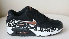 NIKE AIR MAX 90 BLACK AND ROSE GOLD SNEAKERS UK 5.5 US 6 EU 38.5