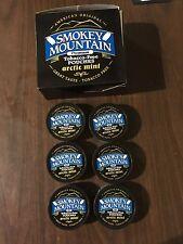 POUCHES 6 New Smokey Mountain Arctic Mint Pouches