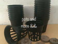 """1000  2"""" INCH NET CUP POTS HYDROPONIC SYSTEM GROW KIT"""