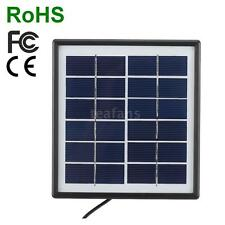 6V 1.8W Outdoor Waterproof Solar Panel Charger Camping Riding Climbing Use Y9O3
