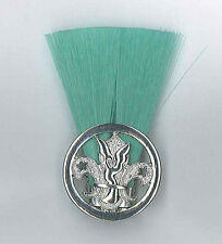 SCOUTS OF TOGO - SCOUT LEADER / MASTER (GREEN COLOUR) Metal Plume / Hat Patch