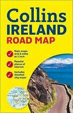 Ireland Road Map by Ace Collins (2015, Sheet Map, Flat, New Edition)