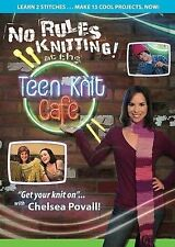 No-Rules Knitting at the Teen Knit Cafe, New DVD, Chelsea Povall,