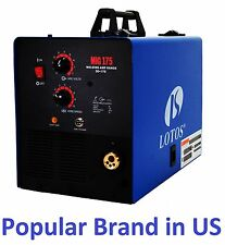 Mig Welder aluminum Gas/Gasless Lotos MIG175amp with Spool Gun