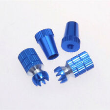 1Pair M4 Aluminum Transmitter Thumb Stick for JR Transmitter, Blue