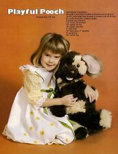Puppy Dog - Animal Patterns & Instructions #GMII Macrame Menagerie Book