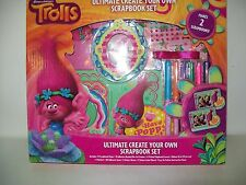 Trolls Poppy Ultimate Create your Own Scrapbook Set Makes Two Scrapbooks New