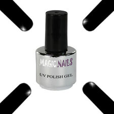 UV Polish Soak Off Gel Nail Art Nagellack Farbe # black night