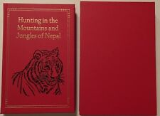 Big Game Hunts HUNTING MOUNTAINS & JUNGLES NEPAL INDIA Indian Tigers Peter Byrne