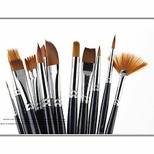Paint Brush Acrylic Watercolor Oil paiting Set