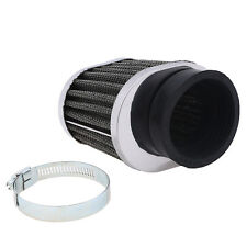Motorcycle 50mm Intake Air Cleaner Filter Universal for Honda Yamaha Kawasaki