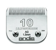 "Andis #10 UltraEdge Clipper Replacement Blade 1/16"" 1.5 mm #64071 # 10 BRAND NEW"