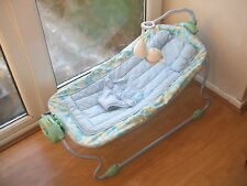 SAFETY 1ST BLUE BABY WING HAMMOCK CHAIR BATTERY POWERED SOUNDS & VIBRATE