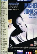 Publicité advertising 1997 Concert Michel Jonasz Tournée