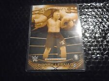 2016 Topps WWE Authority 5x7 Perspectives Gold  /10 Brock Lesnar 15A