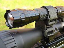 Torch Laser Rifle Scope Light Mount Velcro Universal Lamping Mount Air Rifle