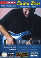 LICK LIBRARY Learn to Play Electric Blues Guitar SCALE Chords RIFFS DVD 1&2