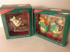 American Greetings1996 Dad At Christmas Parents To Be Figurine Holiday Ornament