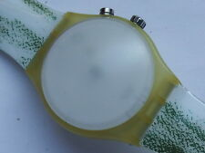 NOS  AUTHENTIC 2000 SWATCH SUNBLASTED  LOOMI WATCH. NEW BATTERY.GREAT TIMEKEEPER