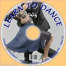 LEARN TO DO BALLROOM DANCING DVD FOXTROT SALSA TANGO LATIN ETC SIMPLE LESSONS