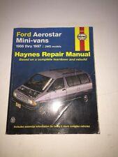 Haynes Repair Manual 1986 - 1997 Ford Aerostar Mini-Vans