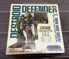 Macross Robotech Destroid Defender Diecast Figure Toy Takatoku New SEALED 1/144