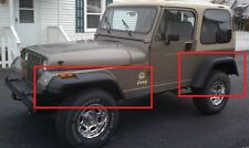 JEEP WRANGLER YJ WHEEL ARCH - FENDER FLARES EXTENSIONS NEW 18cm / 7""