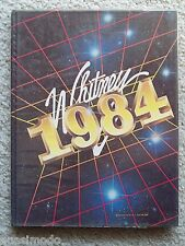 1984 WHITNEY HIGH SCHOOL, YEAR BOOK, CERRITOS CALIFORNIA