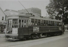 USA318 Public Service Co-Ord TRANSPORT of NEW JERSEY TROLLEY No2605 PHOTO - USA