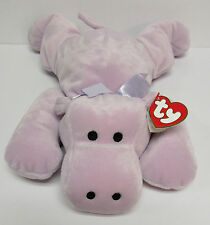 "TY Pillow Pal ""Tubby"" the Hippo, PRISTINE Brand New, TOTALLY SAFE for BABIES!!!"
