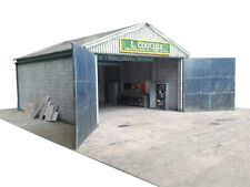 WORKSHOP GARAGE SHED BARN OUTBUILDING - OO SCALE / 1:76 FOR HORNBY BACHMANN