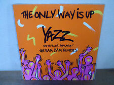 "LP 12"" MAXI - YAZZ - The only way is up - EX/EX"