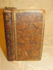 Rare Antique Book Of Poesies De Monsieur Le Marquis De La Farre - 1777