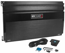 New MB Quart ONYX OA750.1 750 Watt RMS Mono Car Amplifier Amp W/ Bass Remote